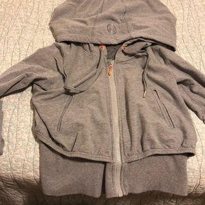 Heathered Gray Exhale Jacket Activewear Lululemon